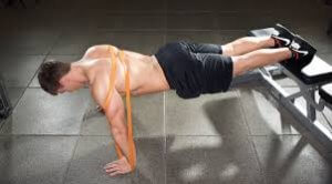 Band-Resisted Pushups = Bench Press for strength gains?  Plus, how useful is EMG?