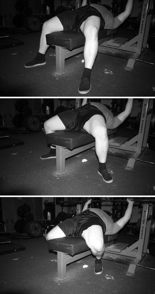 Bench Press Foot Positions