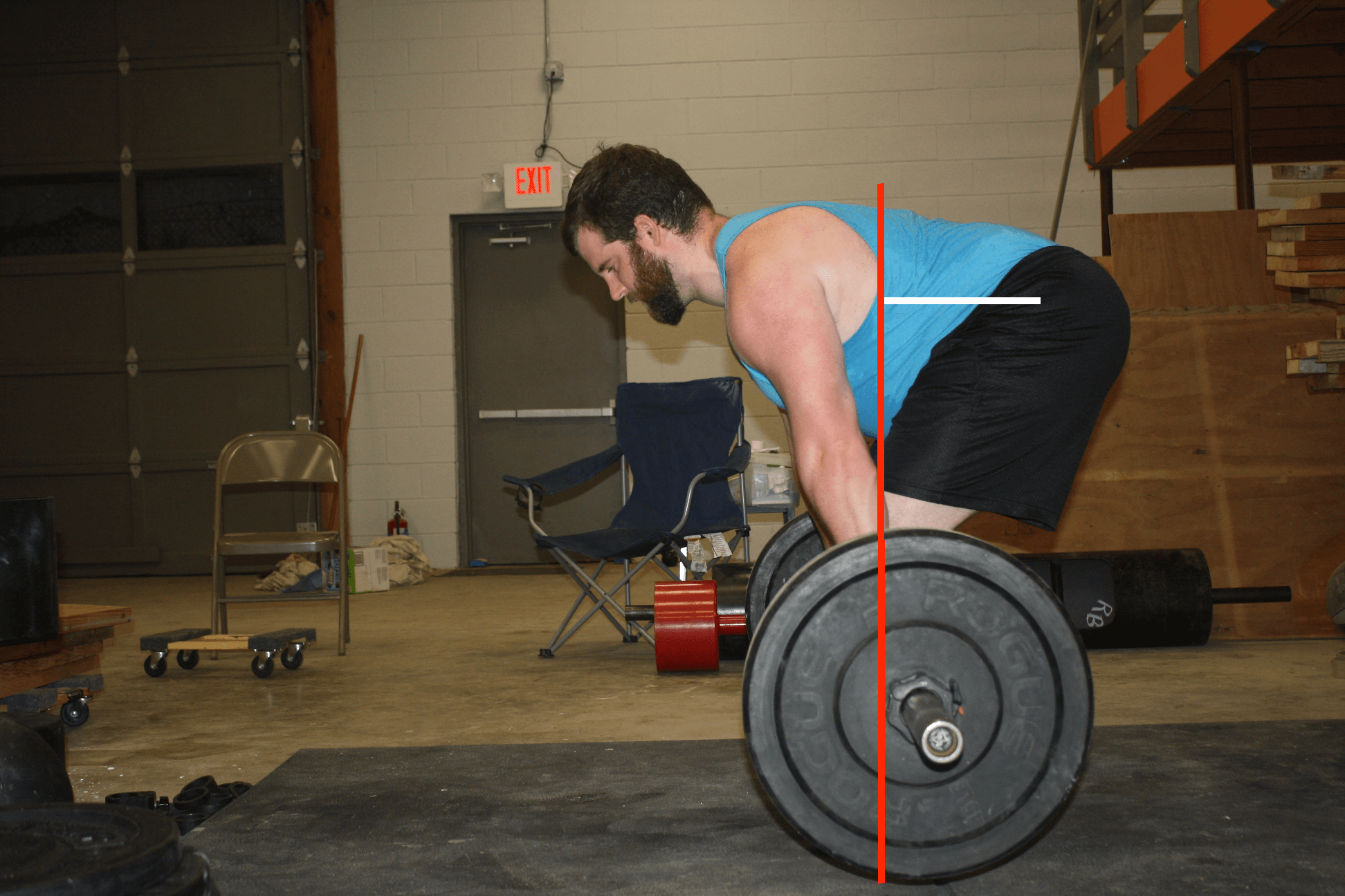 Deadlift Hip Moment Arm
